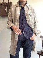 クラシックダスターコート エクリュシャンブレー classic duster coat ecruchambray/DjangoAtour