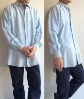 【Price off】1930's French Dress Shirt Pale Blue(1930年代 フランスのドレスシャツ)