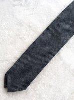 ハンドテーラードタイ グレンチェック Hand Tailored Tie,Glen Check/Workers