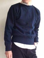 ボートネック コットンセーター Boatneck Cotton Sweater/Workers