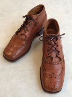 Tricker's ギリーブーツ 3ハーフ/22.5cm	MADE IN England(USED品)