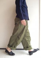 ワイドオーバートラウザー オリーブ Wide Over Trousers Olive(メンズ30)/KAPTAIN SUNSHINE