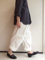 ワイドオーバートラウザー ホワイト Wide Over Trousers White/KAPTAIN SUNSHINE