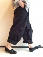 �磻�ɥ����С��ȥ饦���� �ͥ��ӡ� Wide Over Trousers Navy��KAPTAIN SUNSHINE