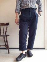 パディング トラベラートラウザー ネイビー Padding Traveller Trousers Navy/KAPTAIN SUNSHINE