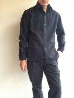 ピンホール シャツ グレー Pinhole Shirt Grey/KAPTAIN SUNSHINE
