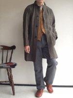 クラシックファーマーズリネンコート セピア classic farmers linen coat sepia(メンズL)/DjangoAtour ANOTHERLINE