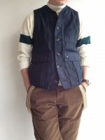 ���饷�å��ե����ϥ󥿡��٥��� �ͥ��ӡ� classic french hunter vest navy��DjangoAtour<img class='new_mark_img2' src='//img.shop-pro.jp/img/new/icons3.gif' style='border:none;display:inline;margin:0px;padding:0px;width:auto;' />