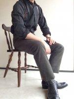 ヴィクトリアンズウールメルトントラウザー オリーブグリーン victorians wool-melton trousers/DjangoAtour【AL】