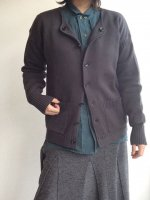 フレンチワーカーズニットカーディガン frenchworkers knit cardigan charcoalgrey/DjangoAtour ANOTHERLINE