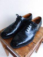 2000's J.M.Weston Leather Shoes Black 8Dサイズ/26.0cmサイズ相当(2000年代USED品)