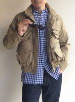 マルチポケットブルゾン ベージュ Multi Pockets Blouson Beige(メンズ36)/KAPTAIN SUNSHINE