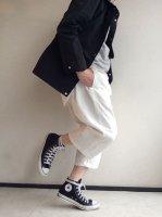 イージークォーターパンツ ホワイト Easy Quarter Pants White(フリーサイズ)/Yarmo