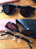 サングラス チャールズ(金子眼鏡別注)Sunglasses Charles, Made by KANEKO OPTICAL/Kaptain Sunshine