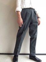 1960年代デッドストック フランスのワークパンツ(メンズS相当)/1960's Dead Stock French Work Trousers Gray