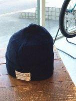 コットンニットキャップ ネイビー Cotton Knit Cap, Navy/Workers