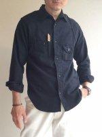 シガレットポケットシャツ ドビー/Workers