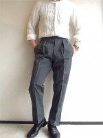1960年代デッドストック フランスのワークパンツ(メンズM相当)/1960's Dead Stock French Work Trousers Gray