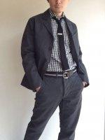 クレオールジャケット コットンサージグレー Creole Jacket Cotton Serge Grey/Workers