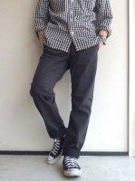 ワーカーズオフィサートラウザースリム コットンサージグレー Workers Officer Trousers  Slim Type 2 Cotton Serge Grey/Workers