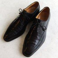 TANINO CRISCI タニノクリスチーUチップブーツ黒 7サイズ/25.5cm MADE IN Italy(used)