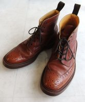 Tricker's ブーツ茶 8 1/2サイズ 27.0cm MADE IN England