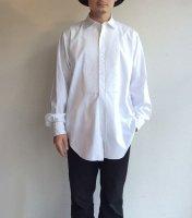 1950年代フランスのイブニングシャツ 1950's French Evening Shirt White