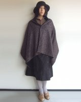 リバーシブルケープ reversible cape/DjangoAtour