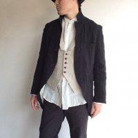 tail-worque linencoat victorian black/DjangoAtour ANOTHERLINE