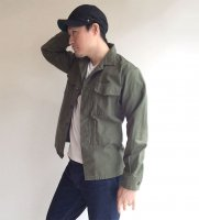 【Price OFF】Fatigue Shirt, MIL-Reversed Sateen, OD/Workers