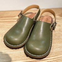 blues ブルース・グリーン おでこ靴職人が作ったサボサンダル/ヒラキヒミ。
