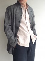 irish-worker heavylinen tailor jkt lightgrey/DjangoAtour ANOTHERLINE