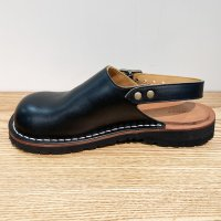 blues ブルース・ブラック おでこ靴職人が作ったサボサンダル/ヒラキヒミ。