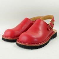 blues ブルース・レッド おでこ靴職人が作ったサボサンダル/ヒラキヒミ。