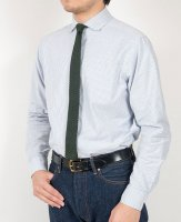 Wide Spread Shirt, Stripe Spima OX/Workers