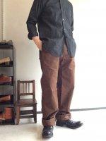 タンカーワークパラフィンパンツ ブラウン tanker work paraffin pants brown/DjangoAtour