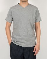3-PLY-Tシャツ Vネック Grey/Workers
