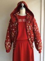 野ばらブルゾン赤 1991年秋 商品番号P0113FJM03/PINKHOUSE