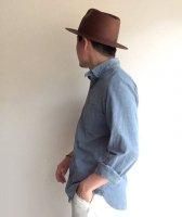 ファーマーズハット ブラウン farmers hat brown size-M(約58cm)/DjangoAtour