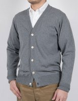 FC Knit, Medium Weight, Cardigan Grey/Workers