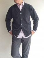 FC Knit, Medium Weight, Cardigan Chacoal/Workers