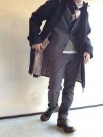 【限定カラー】バルカラーコート ギャバジンネイビー Bal Collar Coat Gabardine, Navy/Workers
