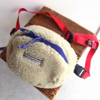 TEDDY WAIST BAG BEIGE/COMFY OUTDOOR GARMENT