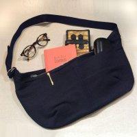 エプロンバッグ インディゴ(刺し子調インディゴ染め) apron bag indigo/DjangoAtour