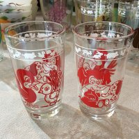 Swanky Swig Glass KIDDY ANIMAL GLASSES(赤)ヘーゼルアトラス