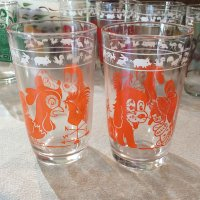 Swanky Swig Glass KIDDY ANIMAL GLASSES(オレンジ)ヘーゼルアトラス