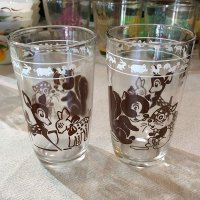 Swanky Swig Glass KIDDY ANIMAL GLASSES(茶)ヘーゼルアトラス