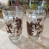 Swanky Swig Glass KIDDY ANIMAL GLASSES(茶)ヘーゼルアトラス