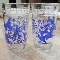 Swanky Swig Glass KIDDY ANIMAL GLASSES(青)ヘーゼルアトラス