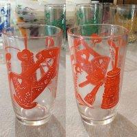 Swanky Swig Glass アンティークシリーズ(オレンジ)ヘーゼルアトラス
